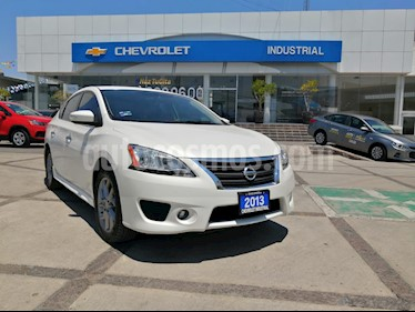 foto Nissan Sentra SR Aut NAVI usado (2013) color Blanco Perla precio $135,000