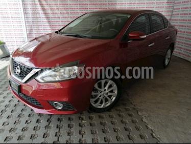 Nissan Sentra Advance Aut usado (2019) color Rojo Metalizado precio $228,000