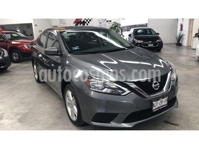 Nissan Sentra Sense usado (2019) color Gris Oxford precio $239,000