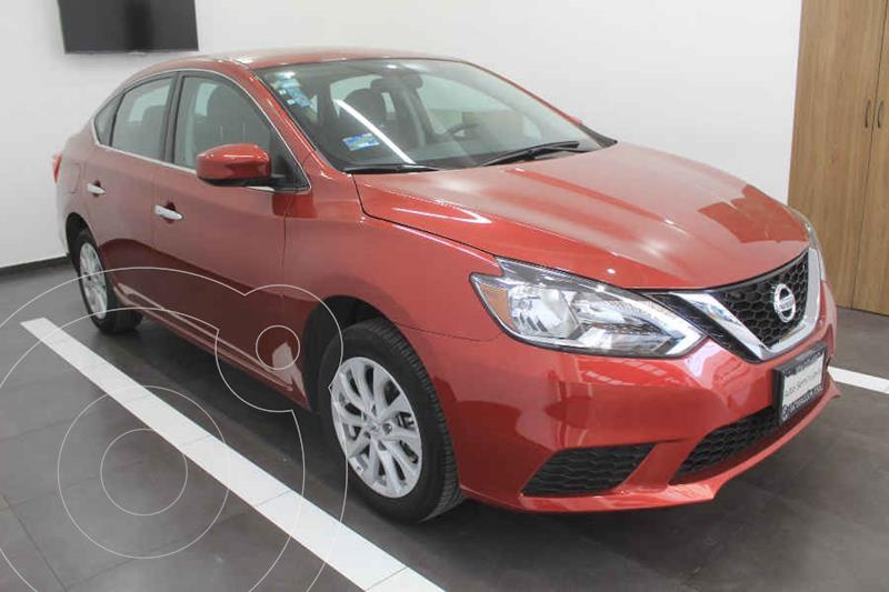Foto Nissan Sentra Sense Aut usado (2018) color Rojo precio $210,000
