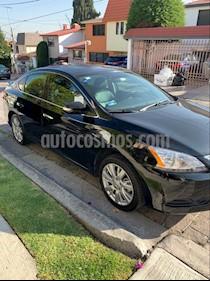 Nissan Sentra Exclusive NAVI Aut usado (2016) color Negro precio $215,000