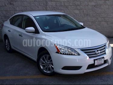 Nissan Sentra 4P SENSE L4/1.8 MAN usado (2014) color Blanco precio $135,000