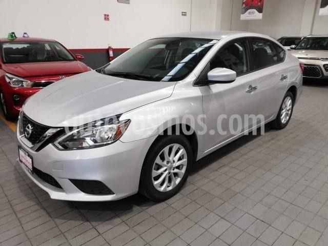 Nissan Sentra Sense usado (2018) color Plata Dorado precio $195,000