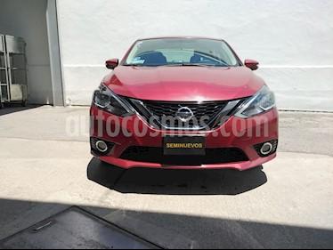 Nissan Sentra Advance Aut usado (2017) color Rojo precio $203,000