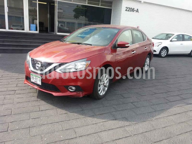 Nissan Sentra 4p Advance L4/1.8 Aut usado (2019) color Rojo precio $209,900