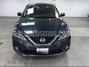 Nissan Sentra Exclusive Aut  usado (2018) color Azul precio $275,000
