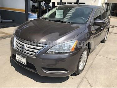 Nissan Sentra Sense usado (2016) color Hierro Encendido precio $175,000