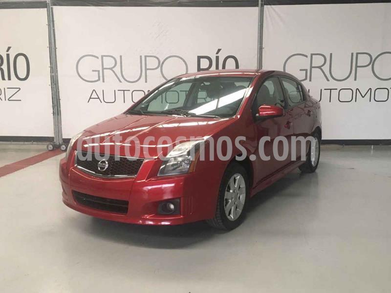 Nissan Sentra Sport Road usado (2012) color Vino Tinto precio $109,000