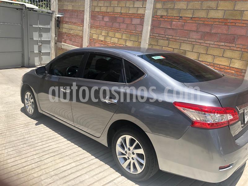 Nissan Sentra Sense Aut usado (2016) color Gris Oxford precio $131,500