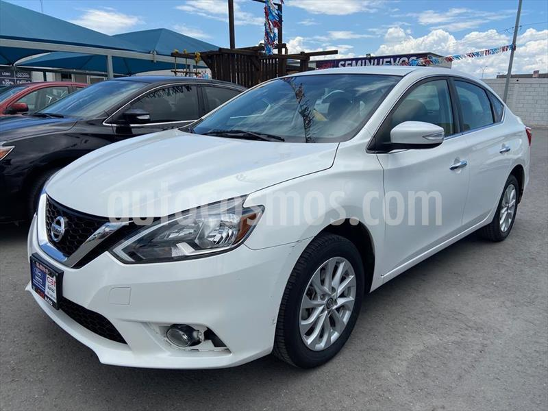 Nissan Sentra Advance Aut usado (2017) color Blanco precio $188,000