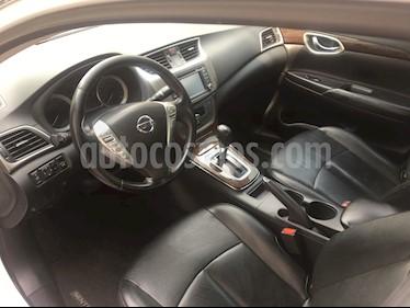 Nissan Sentra Exclusive Aut NAVI usado (2013) color Blanco Perla precio $128,000