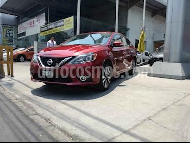 Nissan Sentra 4p Exclusive L4/1.8 Aut Nave usado (2018) color Rojo precio $300,000