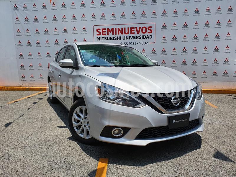 Nissan Sentra Advance Aut usado (2019) color Plata precio $265,000