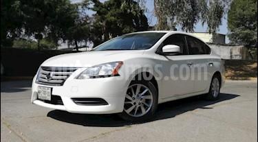 Nissan Sentra 4P SENSE TM6 A/AC. RA-16 usado (2013) color Blanco precio $135,000