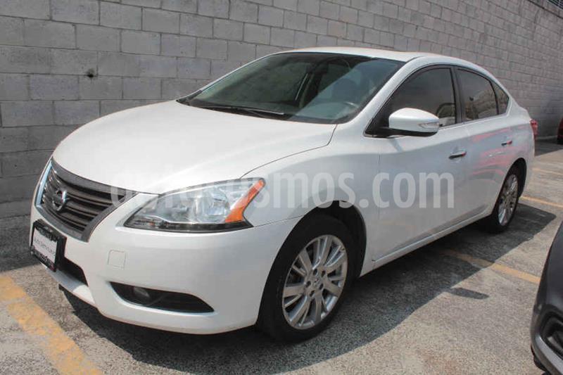 Nissan Sentra Exclusive Aut NAVI usado (2016) color Blanco precio $195,000