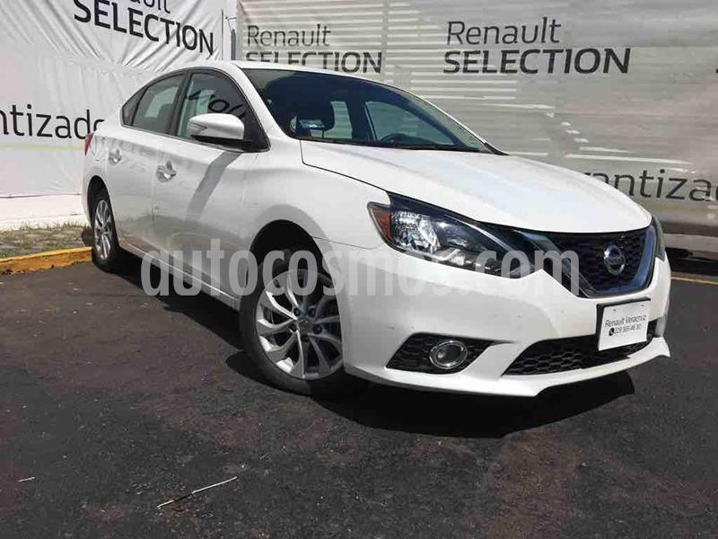 Nissan Sentra Advance Aut usado (2019) color Blanco Perla precio $250,000