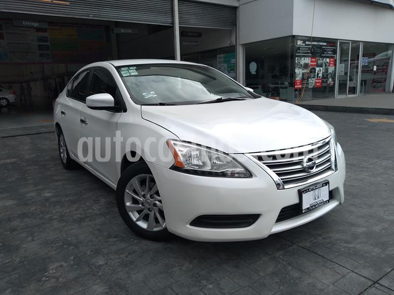 foto Nissan Sentra Sense Aut usado (2015) color Blanco precio $160,000