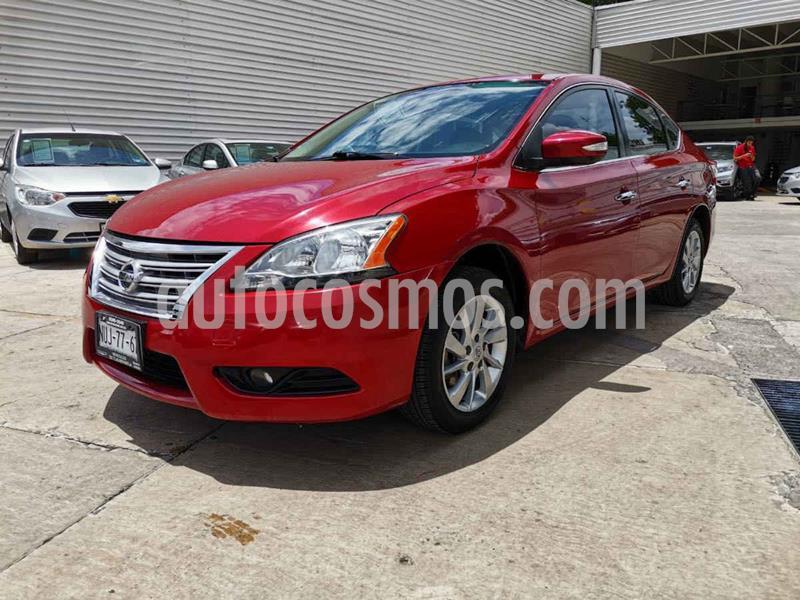 Nissan Sentra Advance Aut usado (2015) color Rojo precio $155,000
