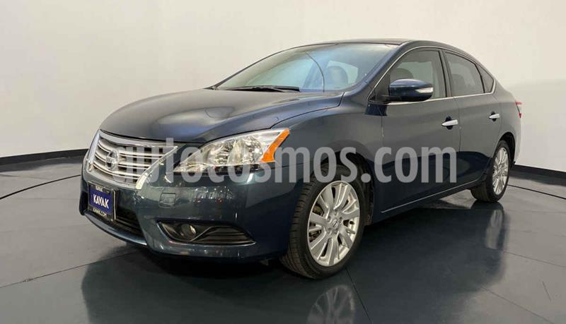 Nissan Sentra Advance Aut usado (2015) color Azul precio $182,999