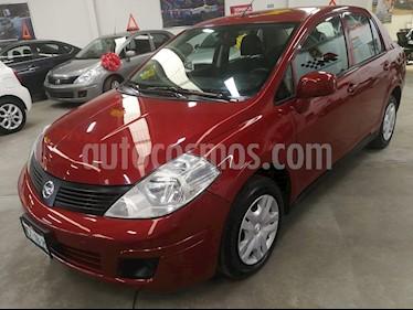Nissan Sentra Exclusive Aut  usado (2017) color Rojo precio $189,000