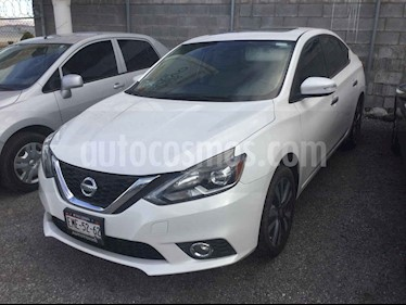 Nissan Sentra 4p Exclusive L4/1.8 Aut Nave usado (2017) color Blanco precio $245,000