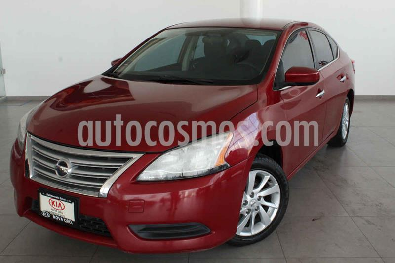 Nissan Sentra Sense usado (2015) color Rojo precio $165,000