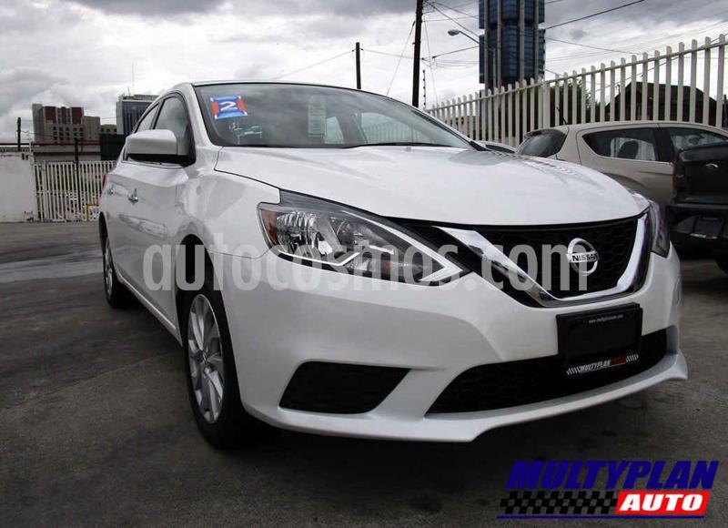 Nissan Sentra Sense Aut usado (2018) color Blanco precio $219,000