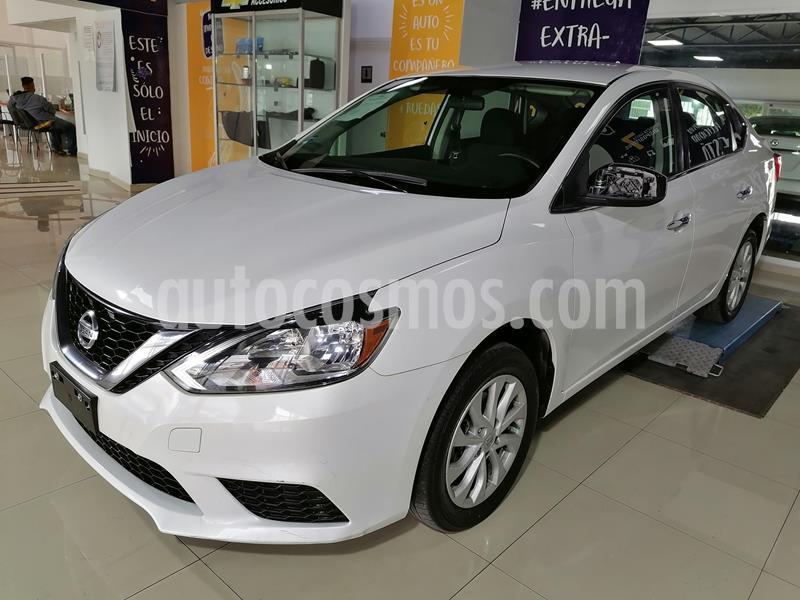 Nissan Sentra Sense usado (2017) color Blanco precio $195,000