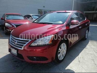 Nissan Sentra Exclusive Aut usado (2016) color Rojo precio $199,000