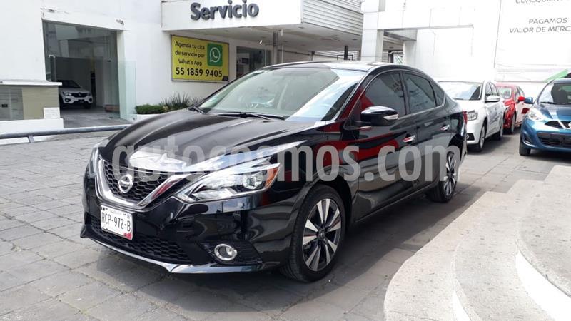 Nissan Sentra Exclusive Aut NAVI usado (2019) color Negro precio $290,000