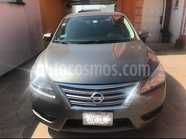 Nissan Sentra Advance Aut usado (2016) color Gris Oxford precio $170,000