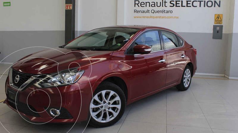 Foto Nissan Sentra Advance Aut usado (2017) color Rojo precio $225,000
