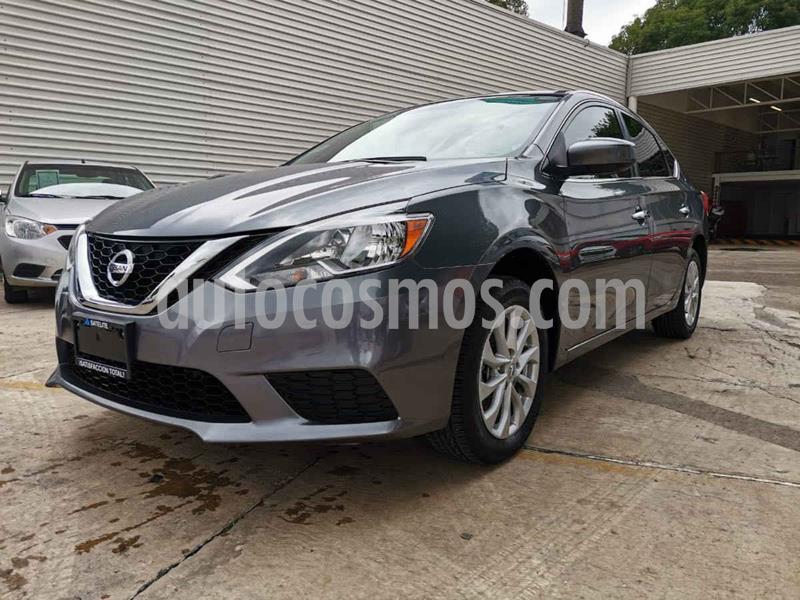 Nissan Sentra Sense usado (2018) color Gris precio $209,000