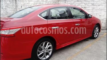 Nissan Sentra SR NAVI Aut usado (2016) color Rojo precio $190,000