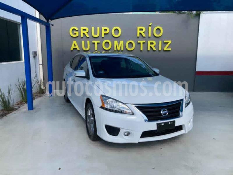 Nissan Sentra SR Aut NAVI usado (2014) color Blanco precio $162,000