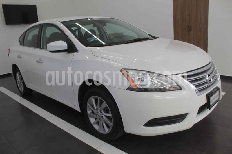 Nissan Sentra Sense usado (2016) color Blanco precio $165,000