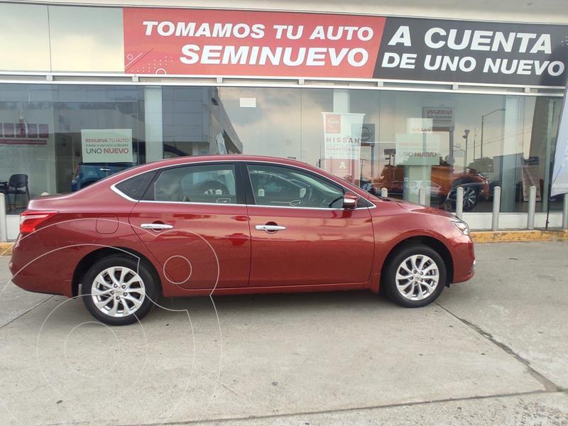 Foto Nissan Sentra Advance usado (2019) color Rojo precio $260,000