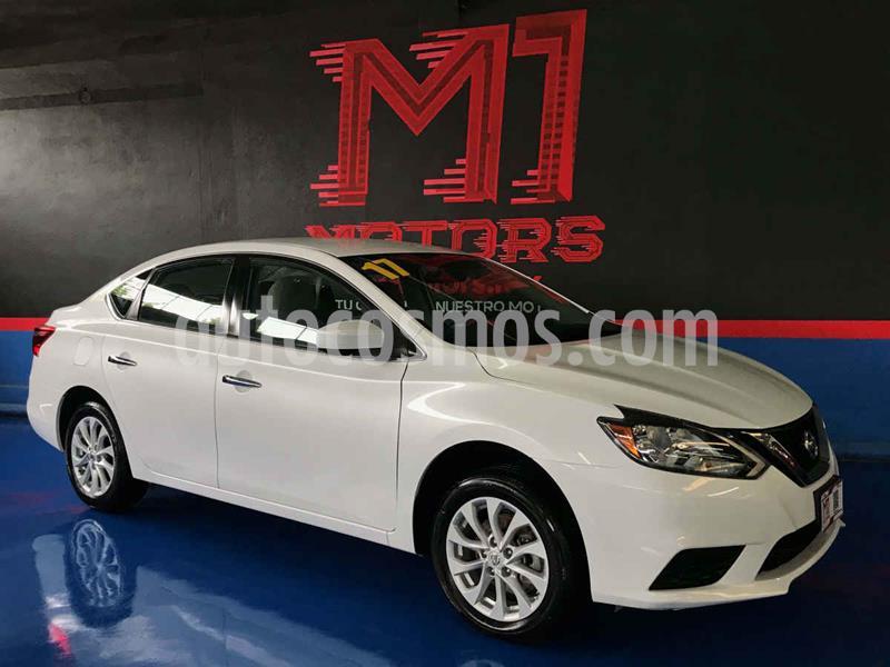 Nissan Sentra Sense Aut usado (2017) color Blanco precio $189,000