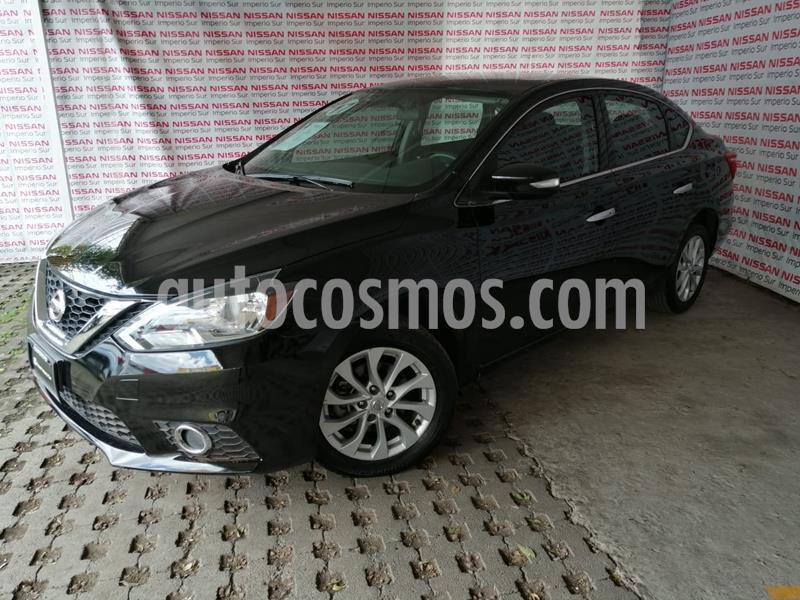 Nissan Sentra Advance Aut usado (2017) color Negro precio $205,000