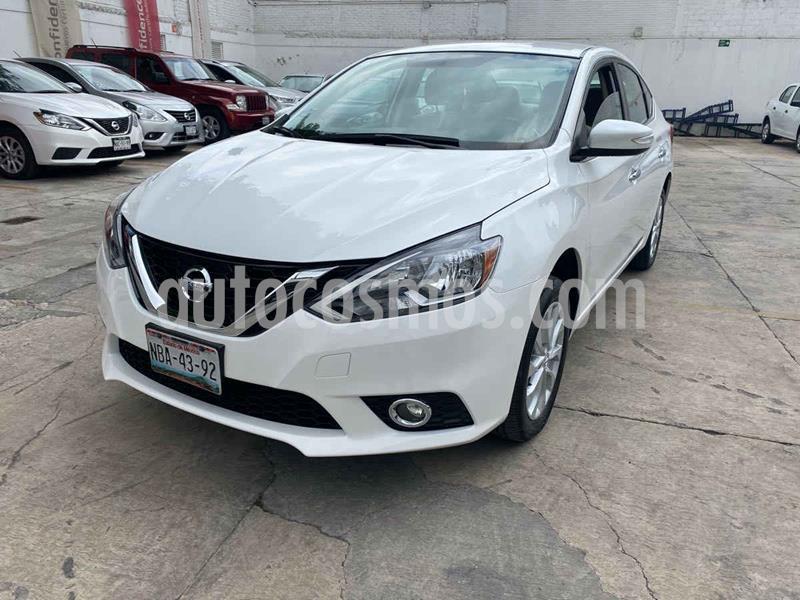 Foto Nissan Sentra Advance Aut usado (2017) color Blanco precio $199,000