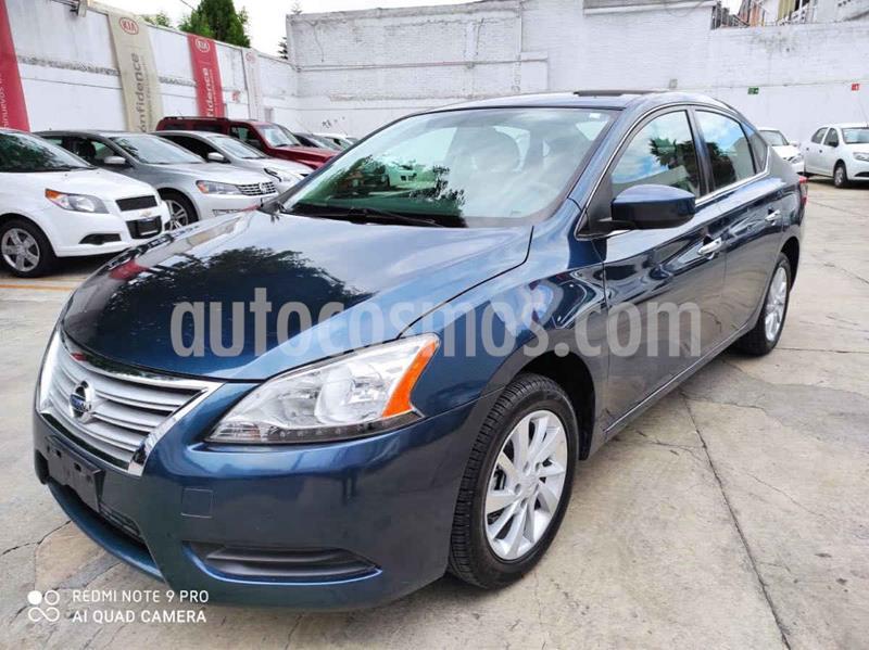 Nissan Sentra Sense usado (2016) color Azul precio $159,000