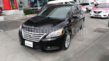 Nissan Sentra 4p Exclusive L4/1.8 Aut Nave usado (2015) color Negro precio $175,000