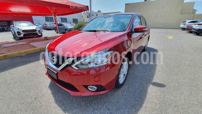 Nissan Sentra Advance Aut usado (2018) color Rojo precio $220,000