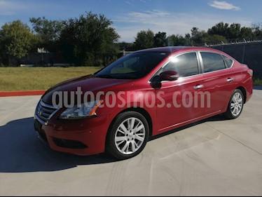 Foto Nissan Sentra Exclusive NAVI Aut usado (2015) color Rojo precio $175,000
