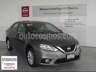 Nissan Sentra 4P ADVANCE L4/1.8 AUT usado (2017) color Gris precio $199,000