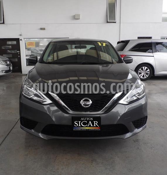 Nissan Sentra Sense usado (2017) color Gris precio $179,000