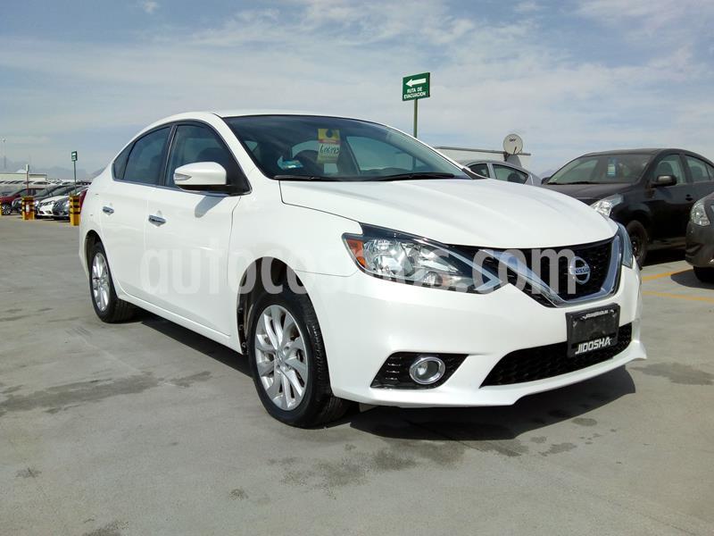 Nissan Sentra Advance usado (2018) color Blanco precio $265,000
