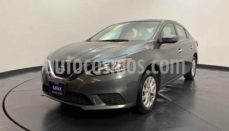 Nissan Sentra Sense usado (2017) color Plata precio $189,999