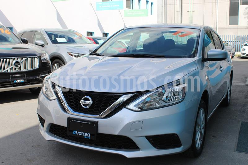 Nissan Sentra Sense usado (2017) color Gris precio $185,000