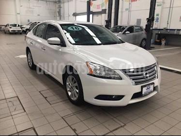 Nissan Sentra Advance Aut usado (2016) color Blanco precio $169,000
